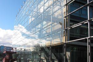Autohaus in Neuaubing Stahlfassaden Sanierung